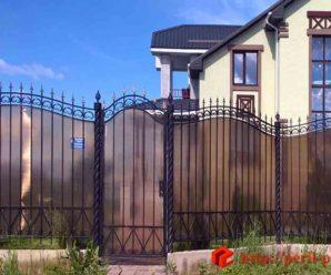Заборы из металла в Воронеже